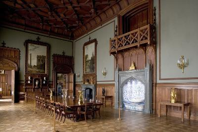 Tudor Style Dining Room in Vorontsov Palace--Photographic Print