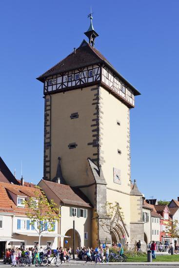 Tuebinger Tor Gate, Reutlingen, Baden Wurttemberg, Germany, Europe-Markus Lange-Photographic Print