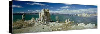 Tufa Rock Formations in a Lake, Mono Lake, Mono Lake Tufa State Reserve, California, USA