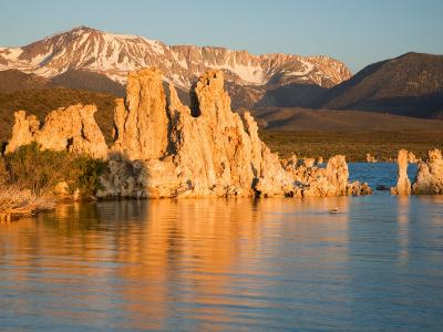 Tufas and Mono Lake, South Tufa Area, Mono Lake Tufa State Reserve, California, USA-Jamie & Judy Wild-Photographic Print