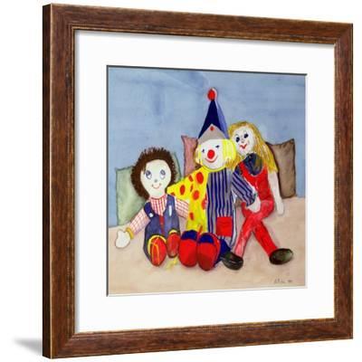 Tuffy's Toys, 1993-Ann Robson-Framed Giclee Print