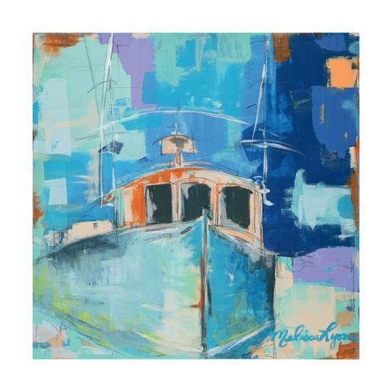 tug boat art print by melissa lyons art com