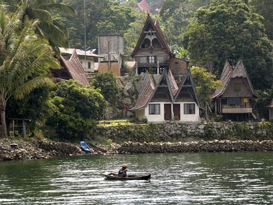 Tuk Tuk, Samosir Island, Lake Toba, Sumatra, Indonesia, Southeast Asia, Asia-Rolf Richardson-Photographic Print