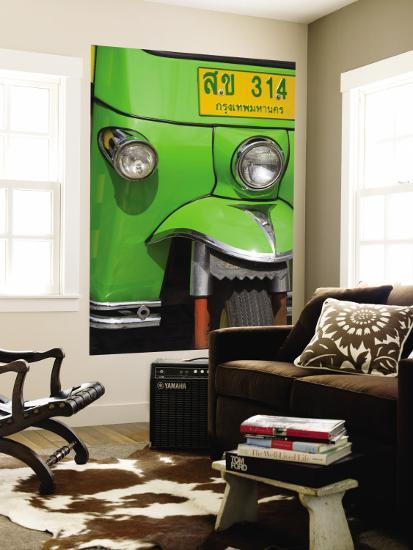 Tuk Tuk Taxi Detail-Richard Cummins-Wall Mural