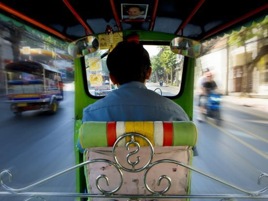 Tuk Tuk Taxi-Jean-pierre Lescourret-Photographic Print