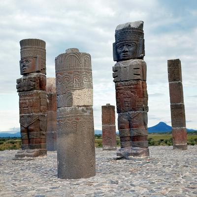 Tula: Toltec Monuments--Giclee Print