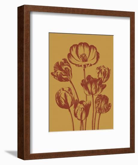 Tulip 15-Botanical Series-Framed Art Print