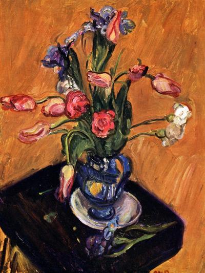 Tulip and Iris, 1929-Matthew Arnold Bracy Smith-Giclee Print