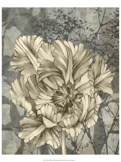 Tulip and Wildflowers IX-Jennifer Goldberger-Art Print