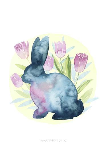Tulip Easter I-Grace Popp-Art Print