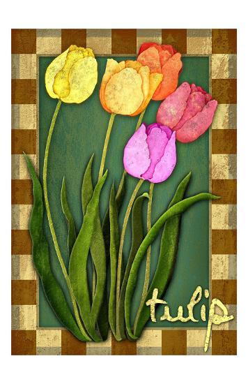 Tulip Flowers-Kate Ward Thacker-Giclee Print