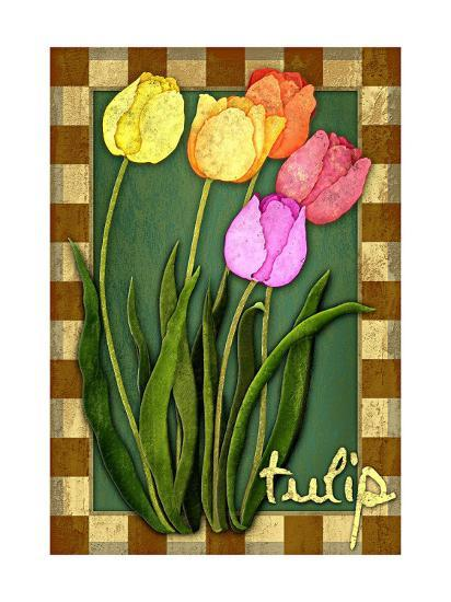 Tulip Flowers-Kate Ward Thacker-Giclee Print