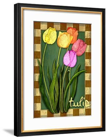 Tulip Flowers-Kate Ward Thacker-Framed Giclee Print
