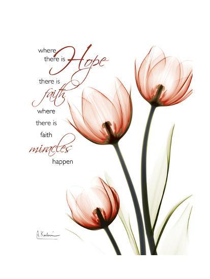 Tulip Hope-Albert Koetsier-Art Print