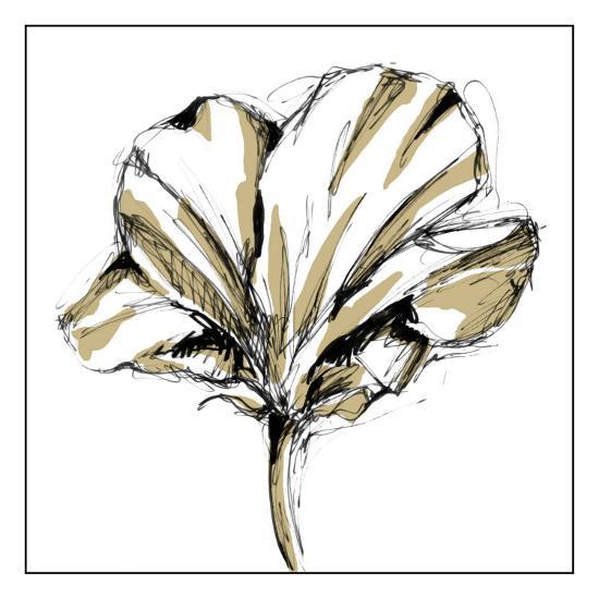 tulip sketch iv art print by ethan harper art com