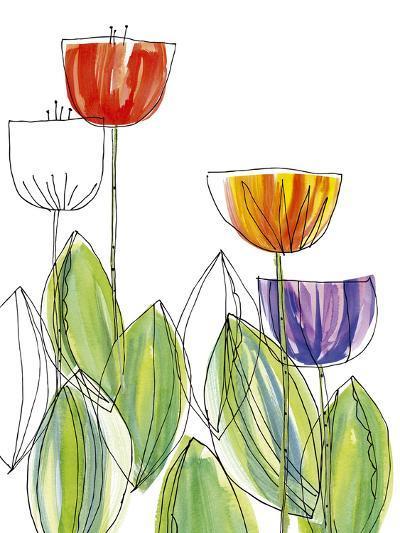 Tulip Skies I-Callie Crosby and Rebecca Daw-Giclee Print