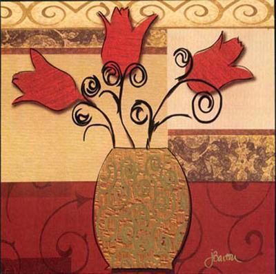 Tulip Trio-Jill Barton-Art Print