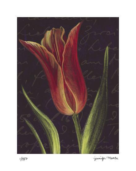 Tulip- Jm Designs-Giclee Print