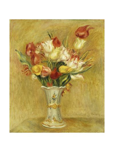 Tulipes, 1909-Pierre-Auguste Renoir-Giclee Print