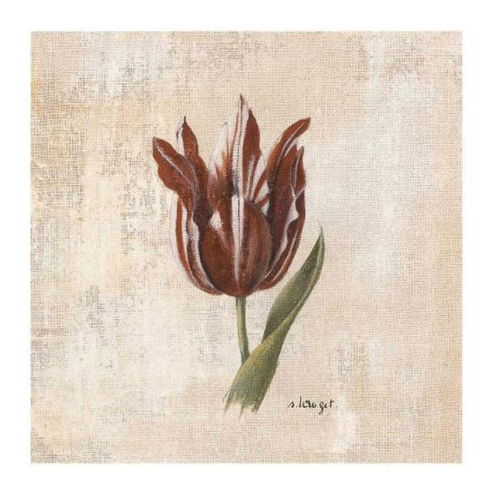 Tulipes III-Sylvie Langet-Art Print