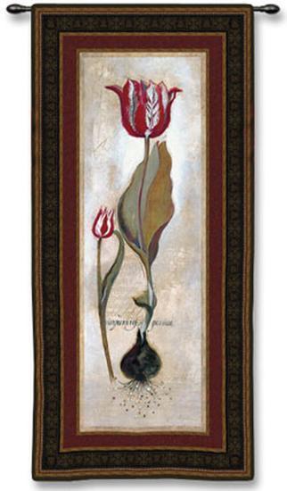 Tulipia Vidoncello III-Augustine (Joseph Grassia)-Wall Tapestry