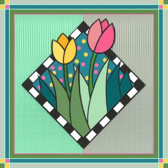 Tulips 2-Denny Driver-Giclee Print