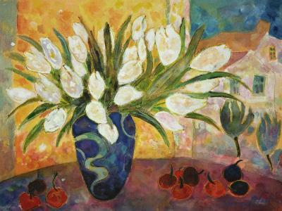 Tulips and Cherries-Lorraine Platt-Giclee Print