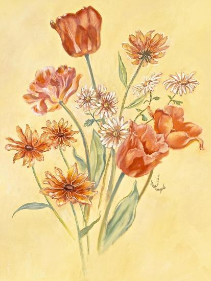 Tulips and Daisies-Judy Mastrangelo-Giclee Print