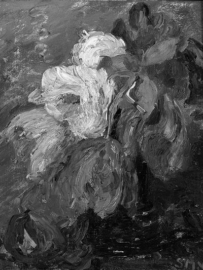 Tulips in a Vase-Sientje Mesgad-van Houten-Giclee Print