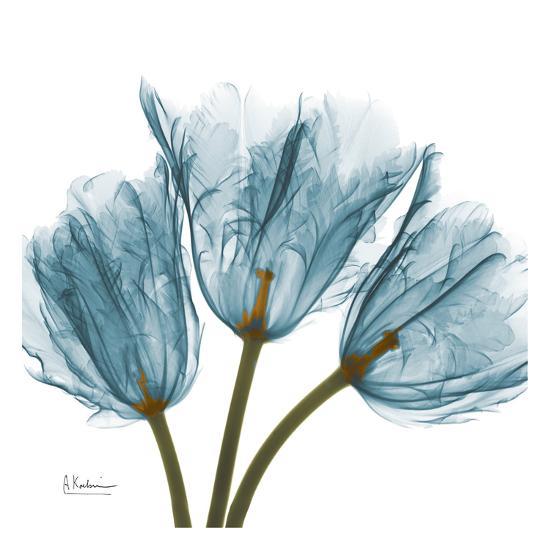 Tulips in Blue-Albert Koetsier-Art Print