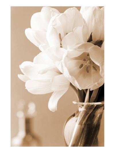 Tulips in Sepia-Christine Zalewski-Art Print