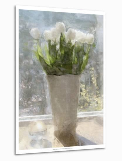Tulips in the Sun-Noah Bay-Metal Print