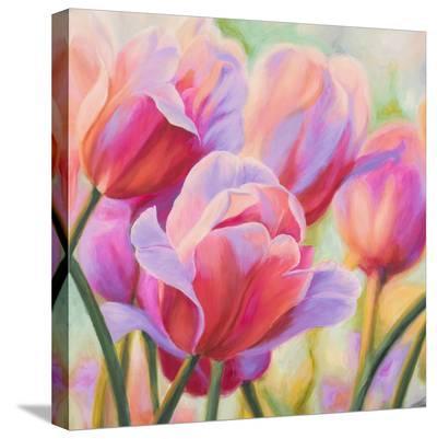 Tulips in Wonderland I-Cynthia Ann-Stretched Canvas Print