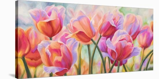Tulips in Wonderland-Cynthia Ann-Stretched Canvas Print