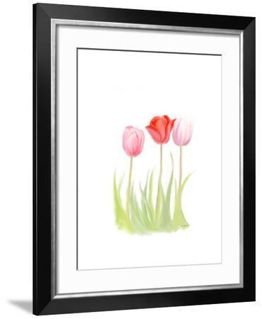 Tulips V-Romona Murdock-Framed Art Print