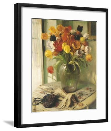 Tulips-Fernand Toussaint-Framed Giclee Print
