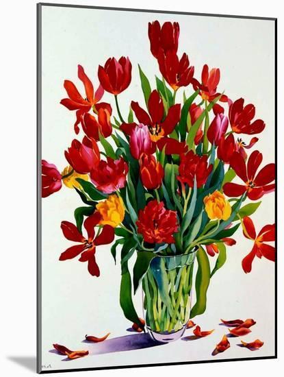 Tulips-Christopher Ryland-Mounted Giclee Print