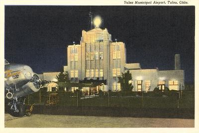 Tulsa Municipal Airport--Art Print