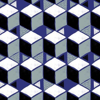 Tumbling Blocks I--Giclee Print