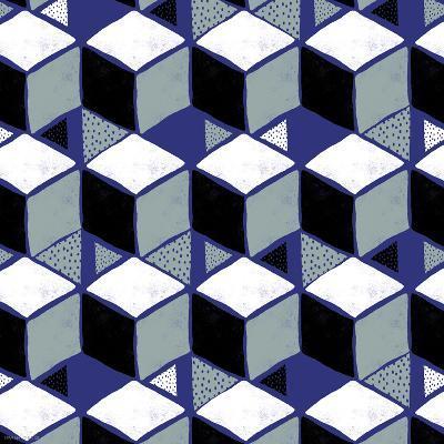 Tumbling Blocks I-Myriam Tebbakha-Art Print