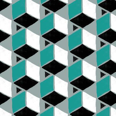 Tumbling Blocks II--Giclee Print