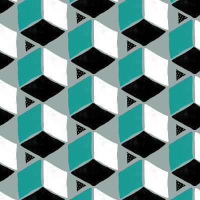 Tumbling Blocks II-Myriam Tebbakha-Art Print