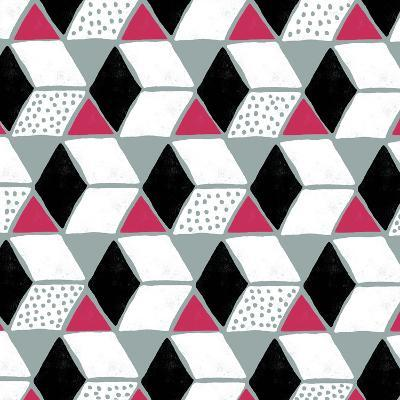 Tumbling Blocks IV--Giclee Print