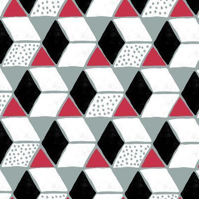 Tumbling Blocks IV-Myriam Tebbakha-Art Print