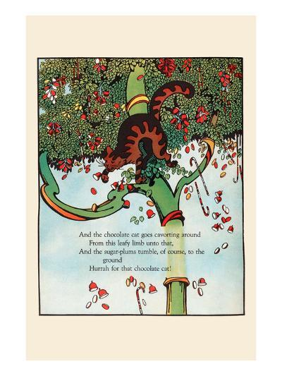 Tumbling Sugar Plums-Eugene Field-Art Print