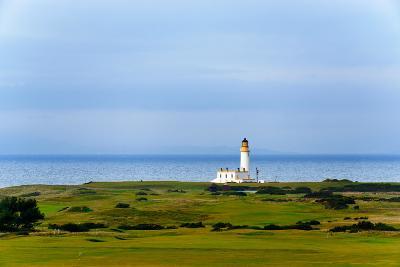 Tunberry Lighthouse in Scotland, UK-Dutourdumonde-Photographic Print