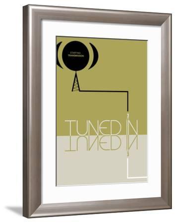 Tuned In-NaxArt-Framed Art Print