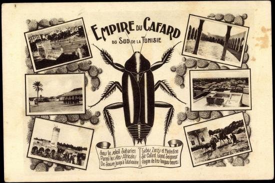 Tunesien, Empire Du Cafard, Küchenschabe, Sahara, Afrika--Giclee Print
