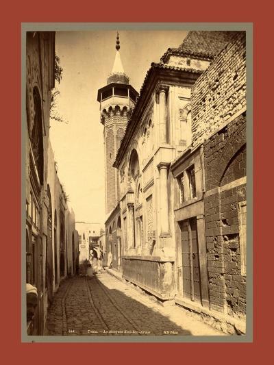 Tunis Mosque Sidi Ben Arous, Tunisia-Etienne & Louis Antonin Neurdein-Giclee Print