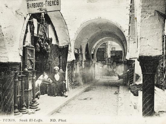 Tunis, Tunisia - Souk El-Leffa--Photographic Print
